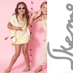 NWT Skemo Girls Sunshine Mandela Butterfly Top